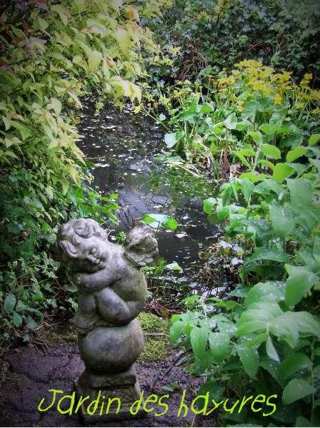 Une pensée pour Jean Pierre Coffe - Copie de déco du jardin de Jean Pierre Coffe revisitée par Bernard - Copyright : Jardin des hayures