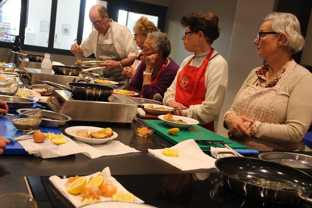 Pas de calais ateliers des chefs cours de cuisine for Alba pezone cours de cuisine