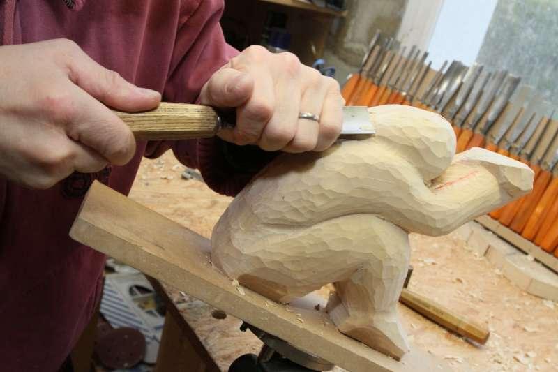 Artisanat - Gouge sculpture bois ...